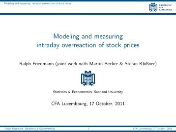 Modeling and measuring intraday overreaction of stock prices