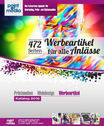 Werbeartikel-Katalog 2016 - point of media Verlag