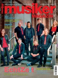Musiker Magazin 02/2016