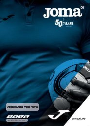 GPS sports Joma Vereinsflyer  2016