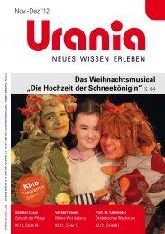 """Das Weihnachtsmusical """"Die Hochzeit der Schneekönigin ... - Urania"""