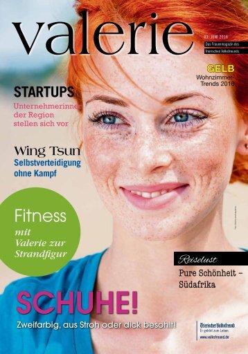 Frauenmagazin VALERIE 06/2016