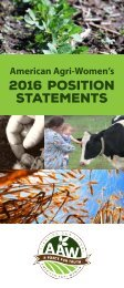2016 Position Statements