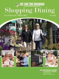 Northbrook Shopping and Dining Guide Spring 2016