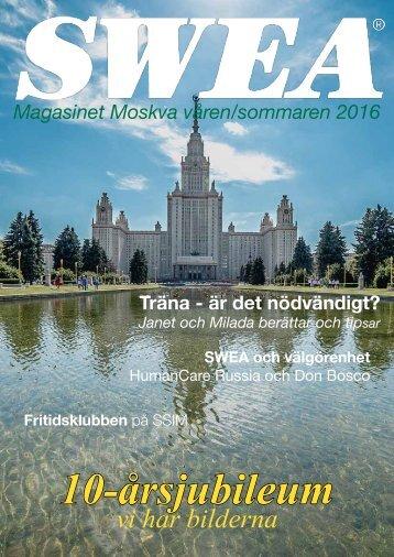 SWEA Magasinet Moskva
