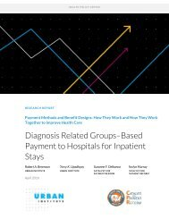 Diagnosis Related Groups–Based Payment to Hospitals for Inpatient Stays