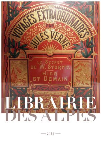 Librairie des Alpes catalogue Jules Verne