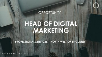 HEAD OF DIGITAL MARKETING