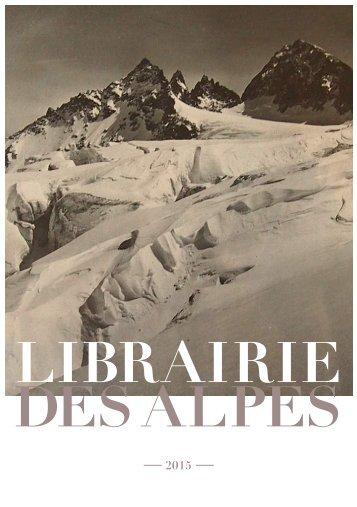 Librairie des Alpes catalogue images