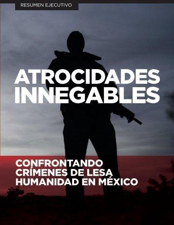 CONFRONTANDO CRÍMENES DE LESA HUMANIDAD EN MÉXICO
