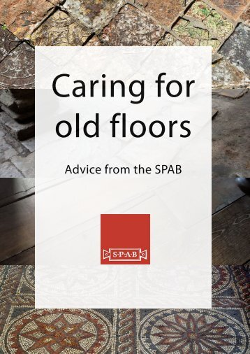 Caring for old floors