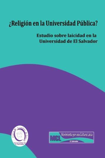 Laicidad en la Universidad de El Salvador