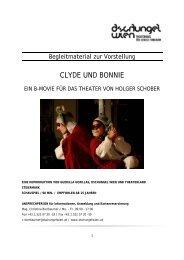 Begleitmaterial Clyde und Bonnie - Dschungel Wien