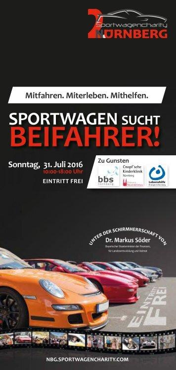 2. Sportwagencharity Nürnberg 2016