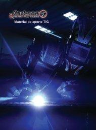 Catalogo Material de Aporte TIG