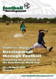 Development through Football - Football for Development