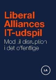 Alliances IT-udspil