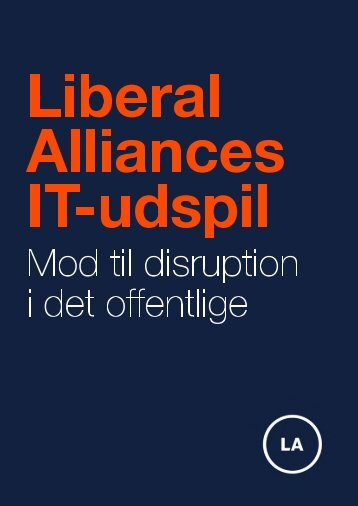 Alliances IT-udspil