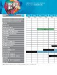Sled Island 2016 Official Program Guide (Pullout Schedule Only) - Published by BeatRoute Magazine - Page 6