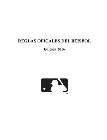 REGLAS OFICALES DEL BEISBOL