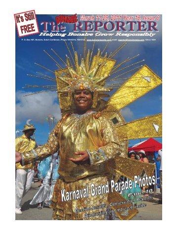P. O, Box 407, Bonaire, Dutch Caribbean, Phone ... - Bonaire Reporter