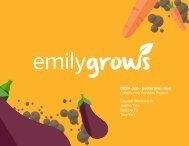 Emily Grows Process Book