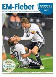 Spezial Sport – EM-Fieber | Das RUNDSCHAU-Magazin zum Fußballspektakel in Frankreich