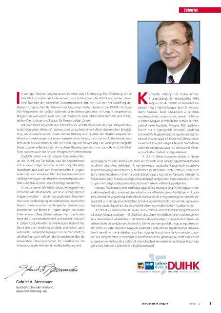 Die - Deutsch-Ungarische Industrie- und Handelskammer