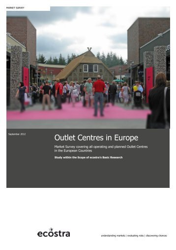 """The big ecostra Outlet Center Hand- book Europe ... - Business Immo"