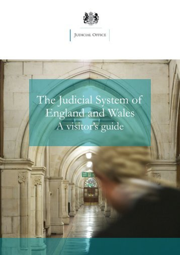 The Judicial System of England and Wales