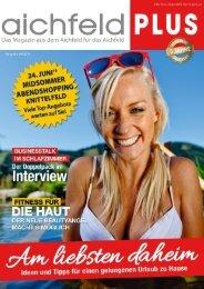 Aichfeld Plus Magazin Juni 2016