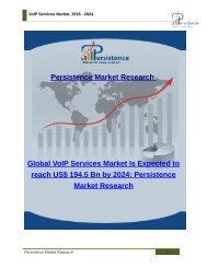 VoIP Services Market, 2016 - 2024