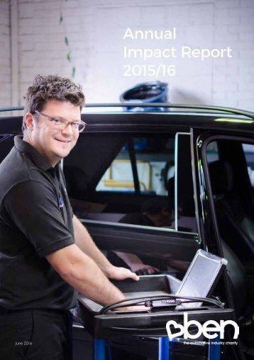 Annual Impact Report 2015/16