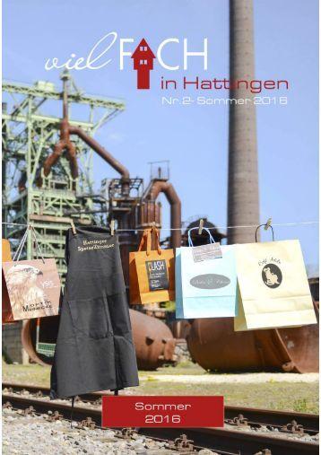 VielFACH in Hattingen Nr.2 Sommer 2016