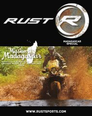 RUST magazine: Mission Madagascar Touratech United People of Adventure 2016