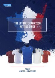 THE ULTIMATE EURO 2016 BETTING GUIDE