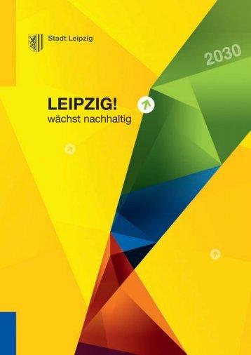 Broschüre Leipzig wächst nachhaltig - Stadt Leipzig