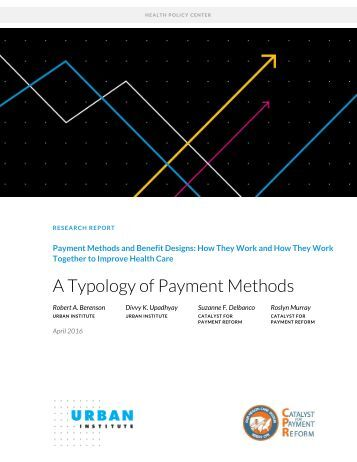 A Typology of Payment Methods