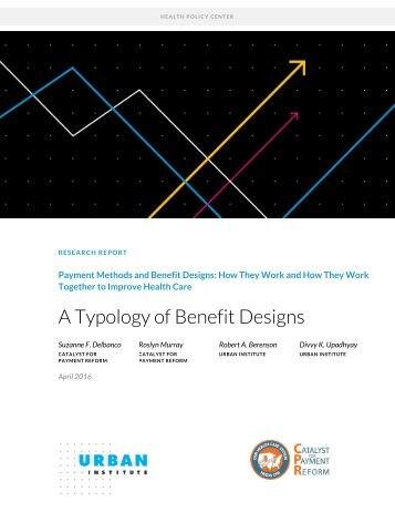 A Typology of Benefit Designs