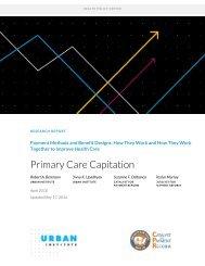 Primary Care Capitation