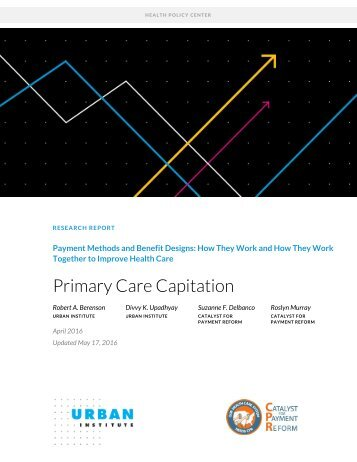 Primary Care Capitation