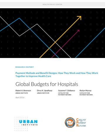 Global Budgets for Hospitals