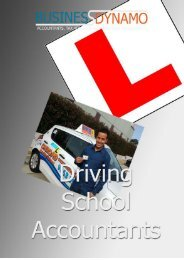 Specialists In Driving School Accounts And Tax