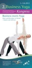 »Business Yoga Kongress 2012«