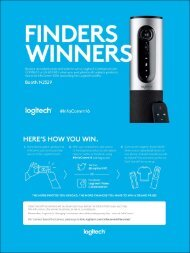 LOGITECH INFOCOMM 2016 PROMOTION OFFICIAL RULES