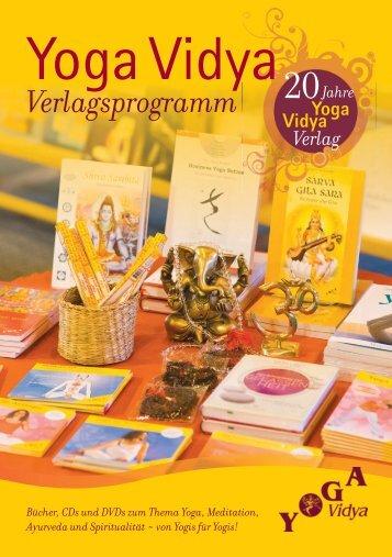 »Yoga Vidya Verlagsprogramm«