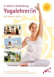 »Yogalehrer Ausbildung 2014«