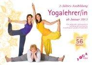 »Yogalehrer Ausbildung 2013«