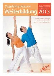 »Yogalehrer Weiterbildung 2013«