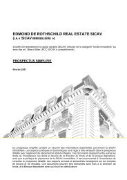 EDMOND DE ROTHSCHILD REAL ESTATE SICAV - FidFund
